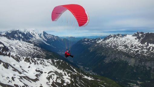 Ascension du Mont Blanc avec descente en parapente