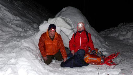 Nuit en igloo et raquettes en Ariège