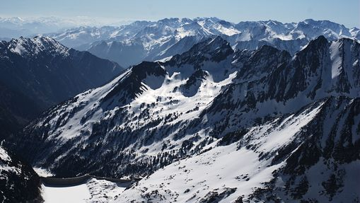 Ski de rando dans le Massif du Néouvielle