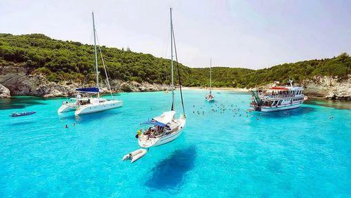 Croisière voilier dans les îles Ioniennes