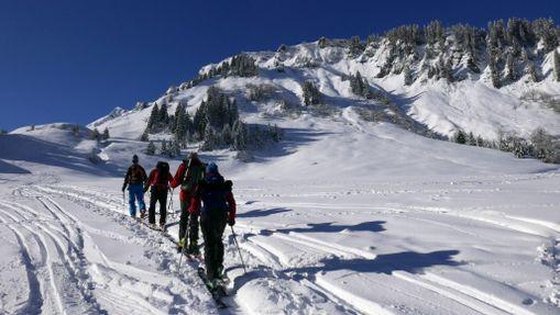 Weekend initiation au ski de randonnée à Morzine-10