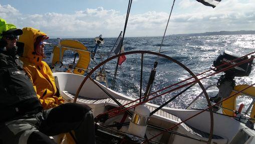 Croisière Bretagne sud et départ du Vendée Globe