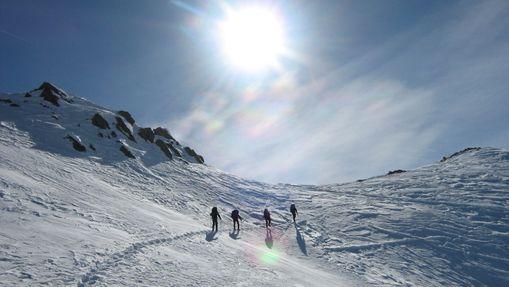 Sensations d'hiver dans la Vallée de Névache