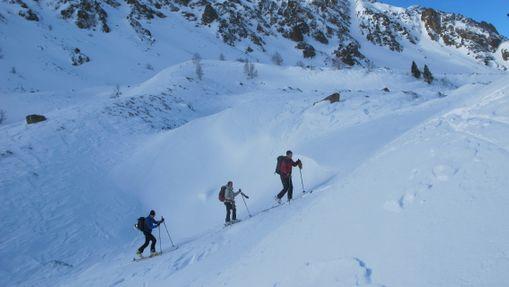 Journée ski de randonnée autour d'Ax-les-Thermes-3