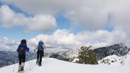 Randonnées Raquettes à neige en Corse-2