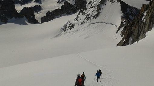 L'Aiguille du Tour, entrée dans l'alpinisme-6