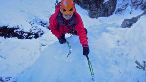 Quatre jours cascade de glace - Hautes-Alpes-1