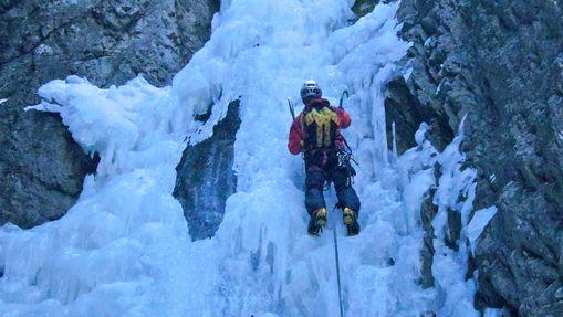 Quatre jours cascade de glace - Hautes-Alpes-2