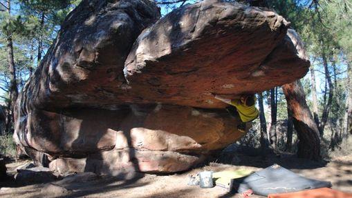 Weekend escalade de bloc à Albarracin-4