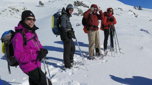 Journée ou demie journée Raquettes à neige en Cors-2