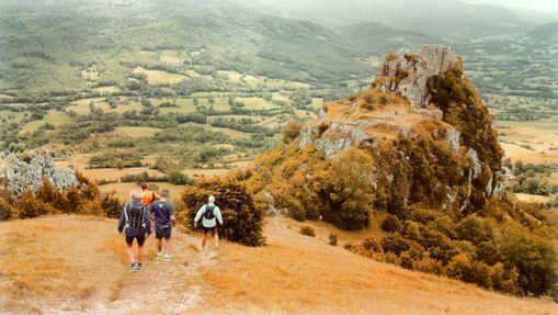 Voyage itinérant : 5 jours de trail - pays cathare-11