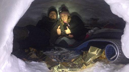 Stage raquettes et nuit en igloo