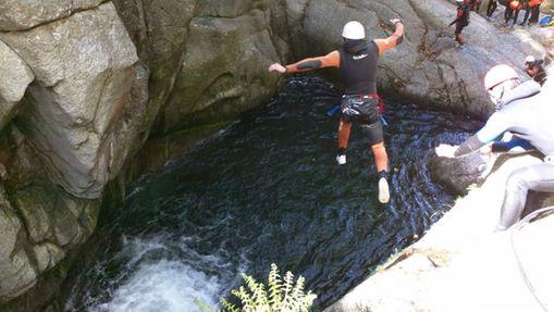 Canyoning dans les gorges du Tapoul-1