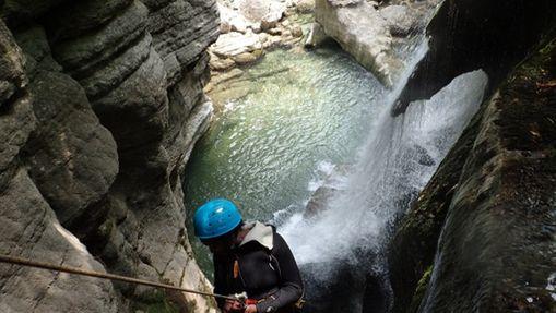 Descente du Canyon du Furon partie basse-3