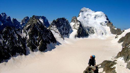 Pointe des Cinéastes et Pic glacier blanc-2