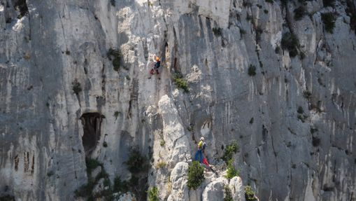 Stage d'escalade Calanques - Provence