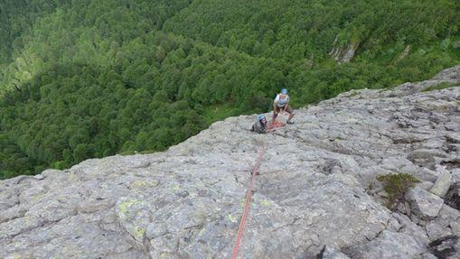 Ascension du Roc d'Hozières-1