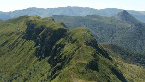 Stage initiation trail dans les Monts du Cantal-4