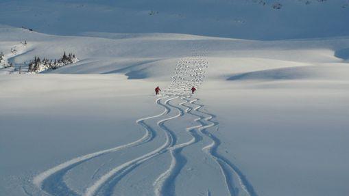 Journée de ski hors-piste en engagement privé-5