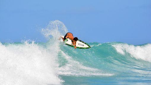Stage de surf à Saint martin 2