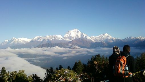 Panorama sur le Poon Hill