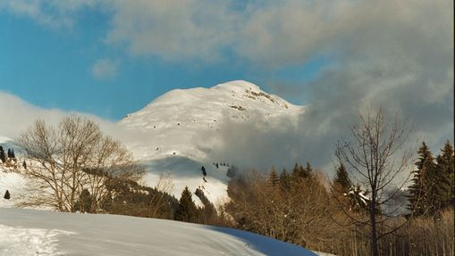 Les Alpes recouvertes de neige