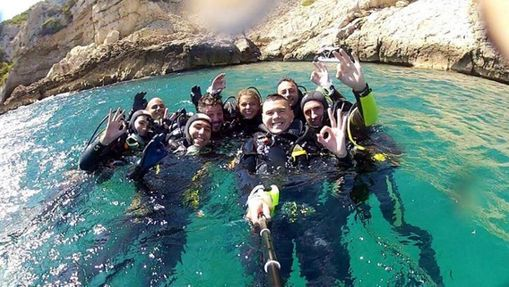 Stage de plongée formation Scuba Diver / PE20m-7