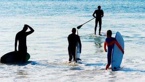 Surfcamp en jolie maison sur la plage Areia Branca