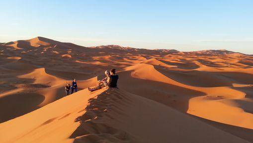 Contreforts du djebel Bani & Dunes de l'erg Mhazil-1