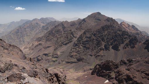 Toubkal depuis Afella Peak