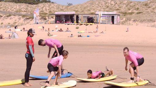 Week-end en surfcamp à la Tranche sur mer-7