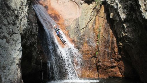 Semaine canyoning en Corse-6
