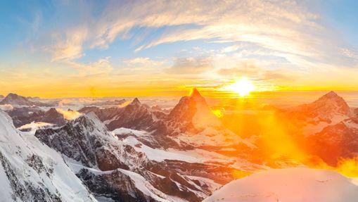 Stage sur les 4000 du Mont Rose (4554 m)