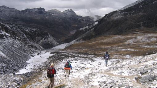 Ascension du Chachacomani (6074m)-2