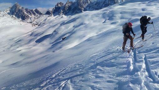 Stage ski de randonnée autour des Aiguilles Rouges-7