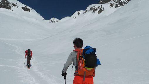 Ski de randonnée autour des Aiguilles Rouges-2