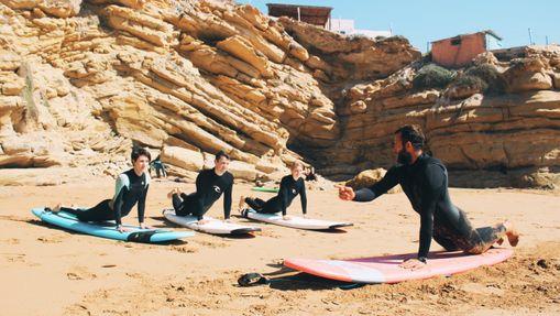 Surfcamp en maison avec piscine à Imsouane