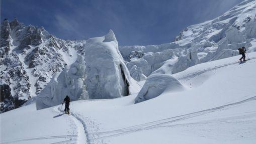 Le Mont-Blanc en ski de randonnée-4