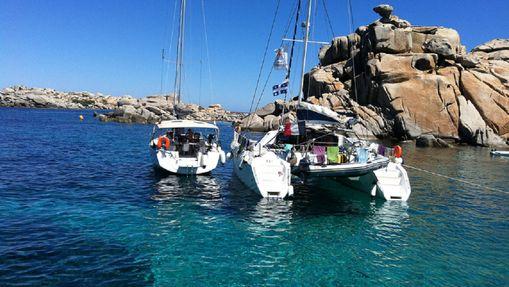 Croisière catamaran en Corse du Sud