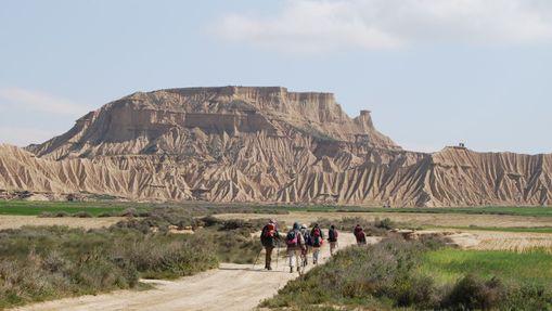 Randonnée dans le désert des Bardenas -12