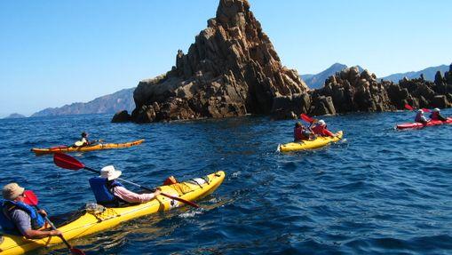 Séjour kayak - Les calanques de l'île de Beauté -8