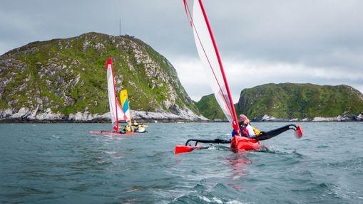 Raid kayak à voile-1