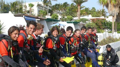 Camp de surf et de plongée à Lanzarote-1