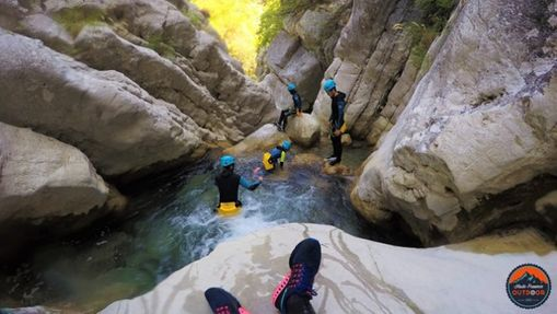 Canyoning – « Gours du Ray »-3