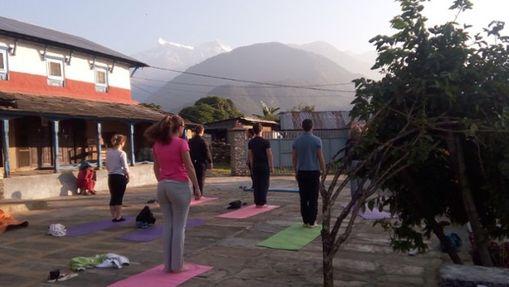 Stage Trek et Yoga aux Annapurnas-6