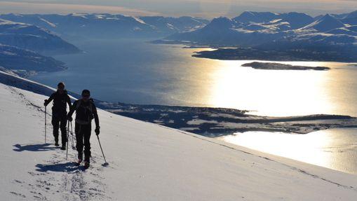Ski de rando & voile dans les Alpes de Lyngen -1