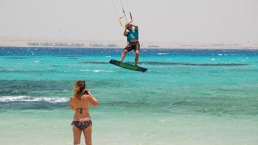 Stage de kitesurf en formule privée en Egypte-1