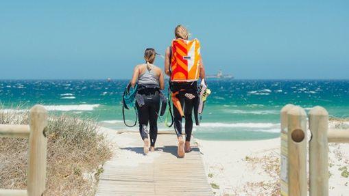 Stage de kitesurf à Cape Town-15