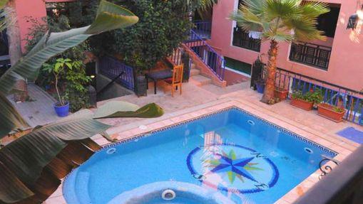 Séjour surf & yoga en riad avec piscine à Tamraght