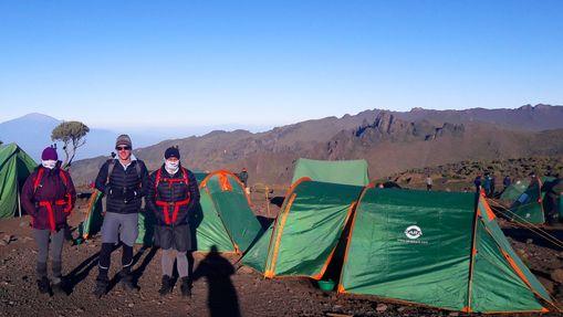Ascension du Kilimandjaro : voie Rongai